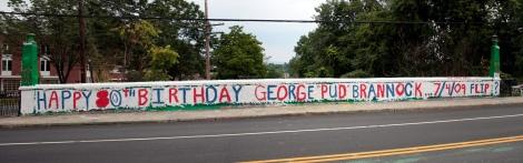 "HAPPY 80TH BIRTHDAY GEORGE ""PUD"" BRANNOCK...7/4/09 FLIP?"