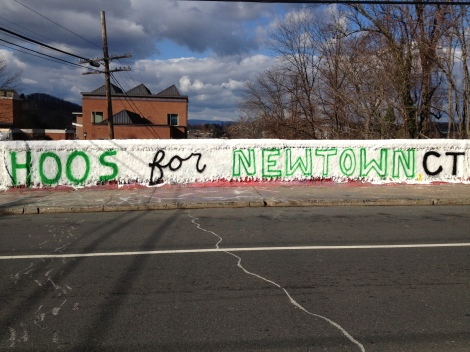Earlier photo of the Newtown painting (from Missy).