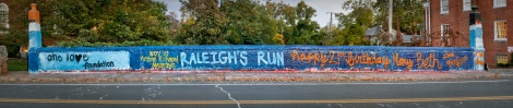 one lo♥e foundation  NOV 10 Anthem Richmond Marathon  RALEIGH'S RUN    happy 21st birthday Mary Beth  Love, Box Elite  THX Beta