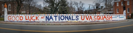 GOOD LUCK AT NATIONALS UVA SQUASH  @uvasquash  THX BETA