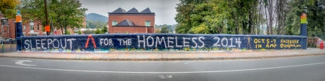 SLEEPOUT Λ FOR THE HOMELESS 2014  OCT. 5-7 IN AMP  FACEBOOK @sleepout.uva